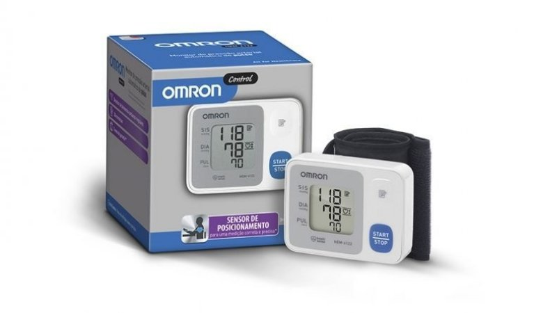 Monitor de Pressão Arterial Automático de Pulso Control HEM-6122
