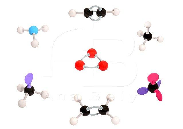 Modelo Molecular Orbital, Orgânica e Inorgânica c/ 178 Peças