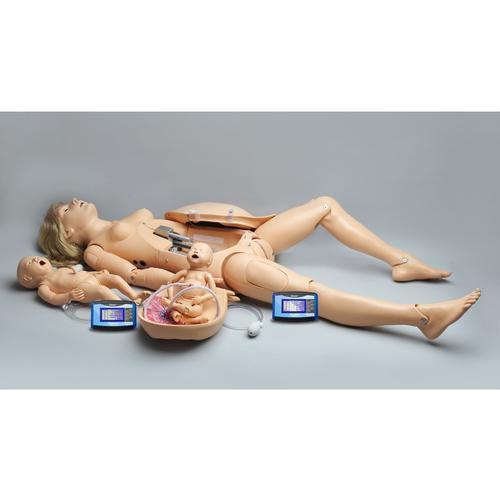 Simulador de parto NOELLE® com PEDI® Blue Neonate - 3B Scientific