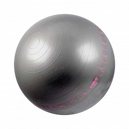 Bola Suiça com Ilustração - 65cm - Cinza