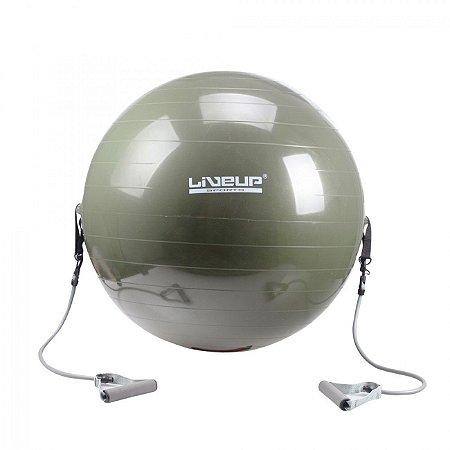 Bola Suiça P/ Pilates - 65cm - com Extensores