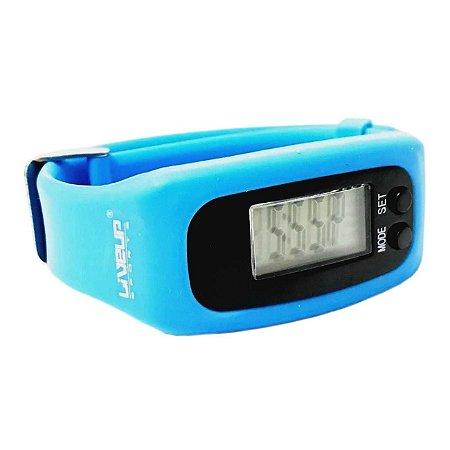 Relógio Pedômetro - Azul