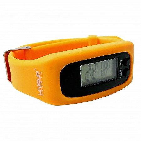 Relógio Pedômetro - Laranja