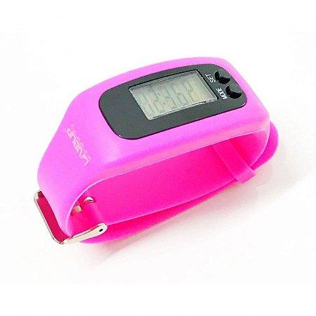 Relógio Pedômetro - Rosa