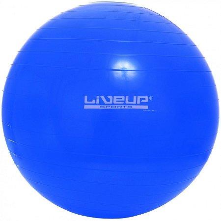2a0703170f Bola Suiça P  Pilates 55cm - Premium - Azul - Saúde e Bem Estar