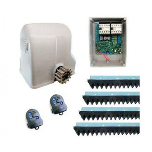 ( Já Instalado)Kit Motor Portão Eletrônico Deslizante Max 1hp Trifásico  (não esta incluso serviço de serralheiro)