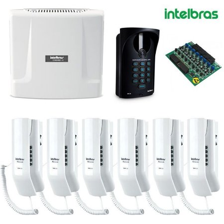 KIT INTERFONE INTELBRAS