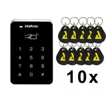 ( Já Instalado)Teclado Controlador De Acesso Digiprox Sa 202 Intelbras +10 Tags