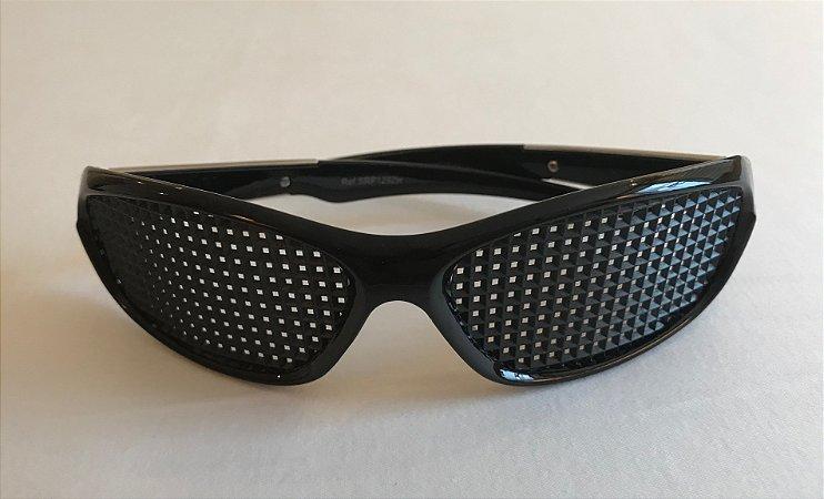 Óculos Terapêutico Acetato Preto com Frizo