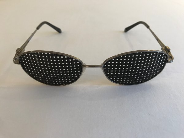 Óculos Terapêutico Oval Preto
