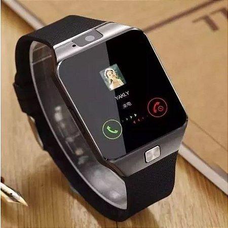35d170b438e Relógio Celular Smart Watch Zd09 / Chip Câmera Som Memóriam ...