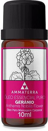 Óleo Essencial Puro De Gerânio 10ml  (TPM e menopausa, contêm fito estrógenos naturais. Também trabalha o medo da entrega, medo de amar. Antigamente era utilizado principalmente para feridas, úlceras e cuidados com a pele)