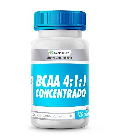Bcaa 4:1:1 Concentrado 120 Cáp. 2000mg, ( ajuda na recuperação após os exercícios físicos, auxilia na síntese de proteínas, colabora com o sistema imunológico, evita a fadiga muscular e estimula a liberação de insulina atletas que desejam ganhar músculo)