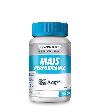 Composto Para Aumento De Massa Muscular Magra- Mais Performance- 60 Cápsulas ( definição corporal, ganho de força e reposição hormonal )