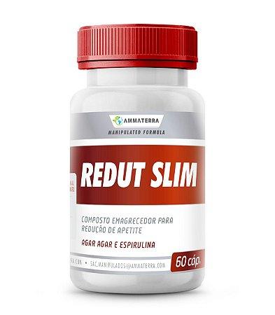 Composto Para Redução de Apetite Redut  Slim 60 Cápsulas, (auxilia nas dietas de emagrecimento; promove sensação de saciedade ,inibi o apetite)