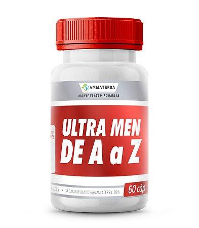 Polivitamínico Ultra Men De A a Z  60 Cápsulas ( polivitamínico)