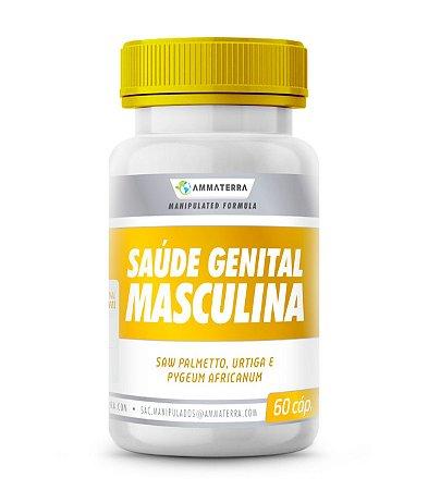 Saúde Genital Masculina  60 Cápsulas, (PROBLEMAS DE PRÓSTATA, BEM COMO MELHORA A QUALIDADE DO SÊMEN E INFERTILIDADE MASCULINA.MELHORA E FORTALECE A EREÇÃO.)