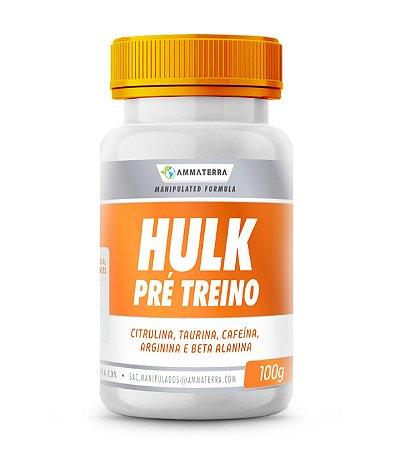 Hulk Pré Treino  100 G