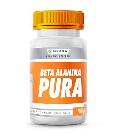 Beta Alanina Pura 100gr, (Beta Alanina proporciona maior resistência durante repetições de alta intensidade, atrasando a fadiga muscular, proporcionando muito mais hipertrofia.)