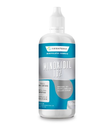 Minoxidil 100ml turbinado 10%, (Interrompe com eficácia a queda de cabelo;  Estimula os folículos capilares enfraquecidos;  Promove o crescimento capilar renovado;  3 meses de uso proporciona resultados incríveis)