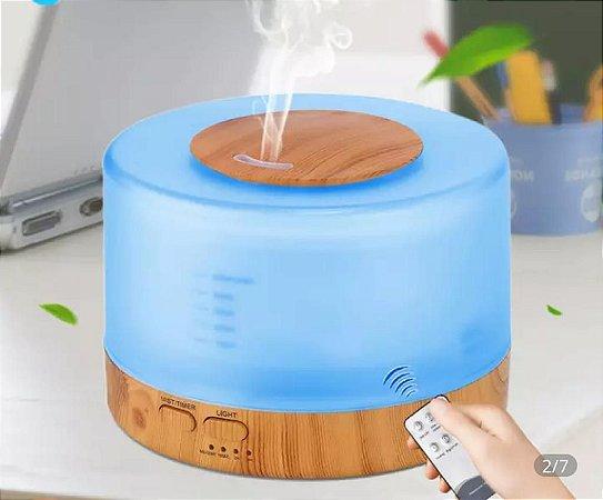 Difusor Aromatizador de óleo essencial com controle remoto