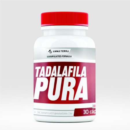 Tadalafila Pura 15MG  30 Cápsulas (Melhora o fluxo sanguíneo peniano, garantindo uma ereção satisfatória durante o ato sexual. É indicado em casos de hiperplasia prostática, problemas na bexiga e outros)