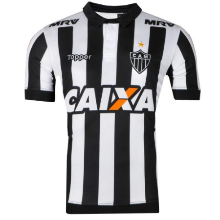 Camisa Atlético Jogo I 2017 Topper Masculina