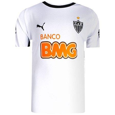 Camisa Atlético Jogo II Ronaldinho Nº10 2014 Puma Juvenil