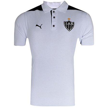 Camisa Atlético Polo Viagem 2014 Puma Plus Size