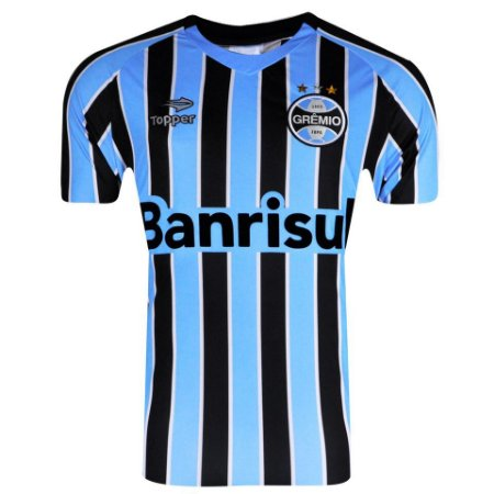 Camisa Grêmio Jogo I Topper 2014 Masculina - TuttiSports - De ... 27d14bd7682ed