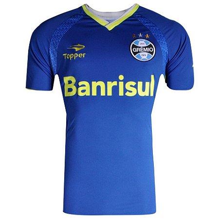 Camisa Grêmio Treino II Topper 2014 Masculina - TuttiSports - De ... 70fc90cb7949b