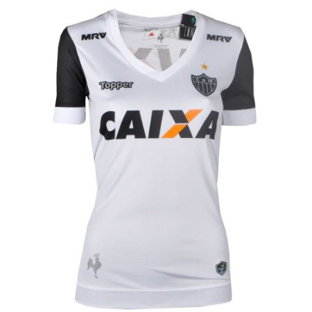 Camisa Atlético Jogo II 2017 Topper Feminina