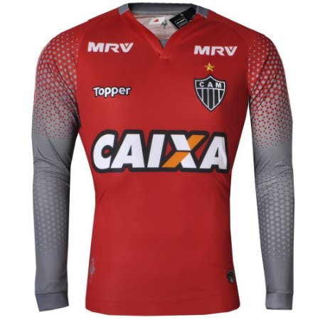2d2a6ae37c Camisa Atlético Goleiro II Manga Longa 2017 Topper Masculina ...