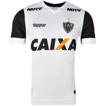 04cf0c9a32 Camisa Atlético Jogo II Nº10 2017 Topper Masculina