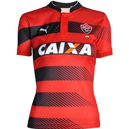 Camisa Vitória Jogo I  2016 Puma Feminina