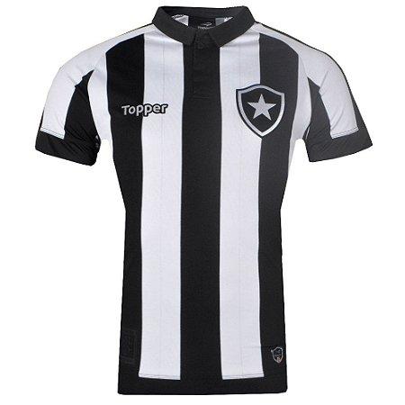 1032e55571 Camisa Botafogo Jogo I Nº10 2017 Topper Masculina