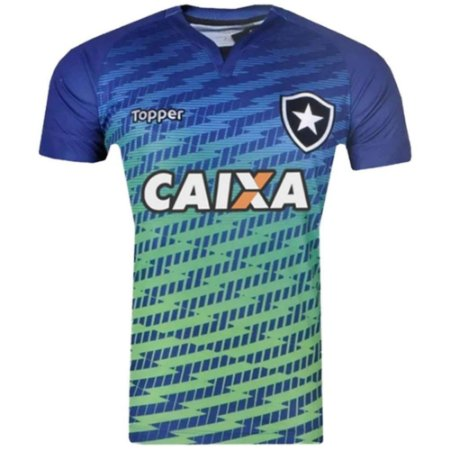 Camisa Botafogo Goleiro C/Patrocínio 2017 Topper Masculina