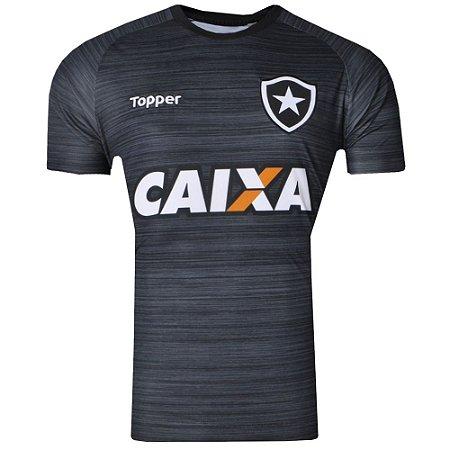 3bf13075fd60b Camisa Botafogo Treino Comissão Técnica C Patrocinio 2017 Topper Masculina