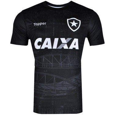 Camisa Botafogo 2018 Aquecimento Topper Masculina