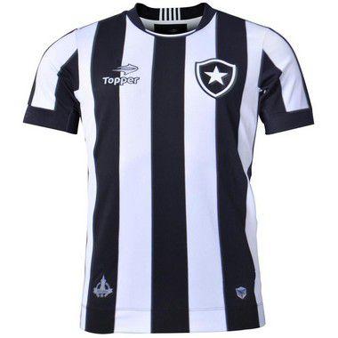 3fde14e445fa7 Camisa Botafogo Jogo I 2016 Topper Juvenil