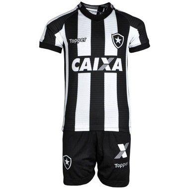8fa54724d1 Kit Botafogo Jogo I 2018 Topper Infantil - TuttiSports - De esportes ...