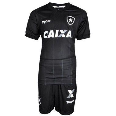 77f800c3b196e Kit Botafogo Jogo II Infantil 2018 Topper Masculina - TuttiSports ...