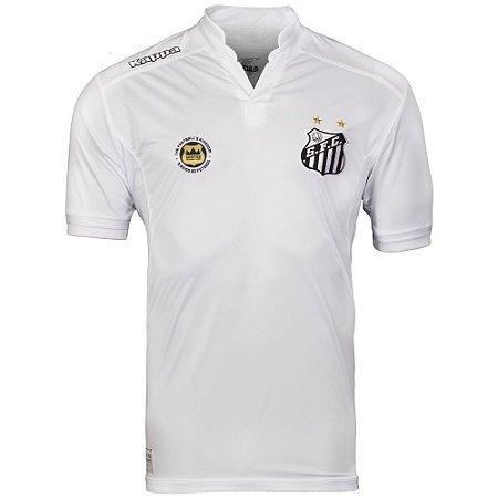 Camisa Santos Jogo I Official 2016 Kappa Masculina  bec5d8be28789
