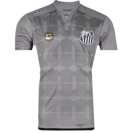 Camisa Santos Goleiro II Official 2016 Kappa Masculina  8adece117ed4a