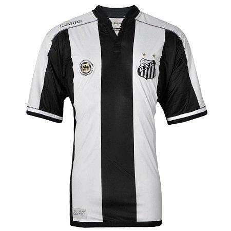 Camisa Santos Jogo II Official Plus Size 2016 Kappa Masculina