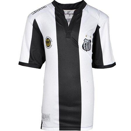 Camisa Santos Jogo II Torcedor 2016 Kappa Juvenil