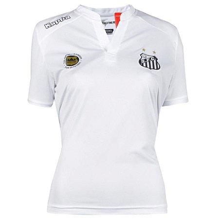 Camisa Santos Jogo I Torcedor 2016 Kappa Feminina