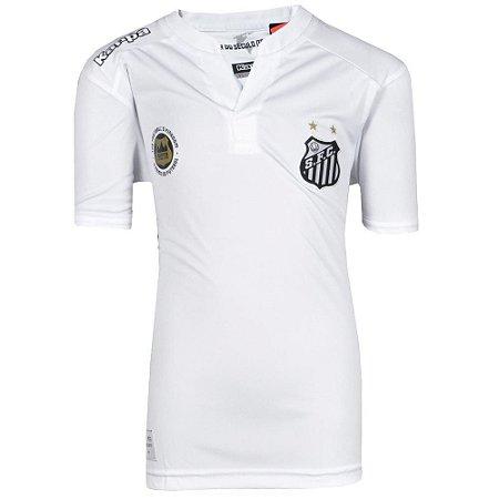 Camisa Santos Jogo I Torcedor 2016 Kappa Juvenil