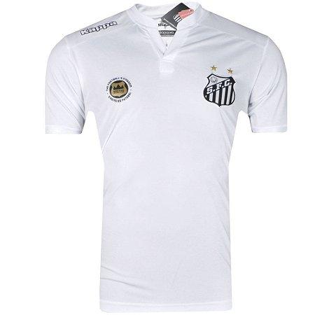 Camisa Santos Jogo I Torcedor 2016 Kappa Masculina