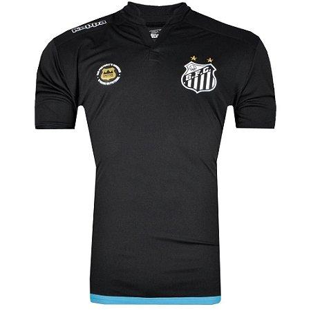 Camisa Santos Goleiro I Official 2016 Kappa Masculina - TuttiSports ... cc7e18666324b